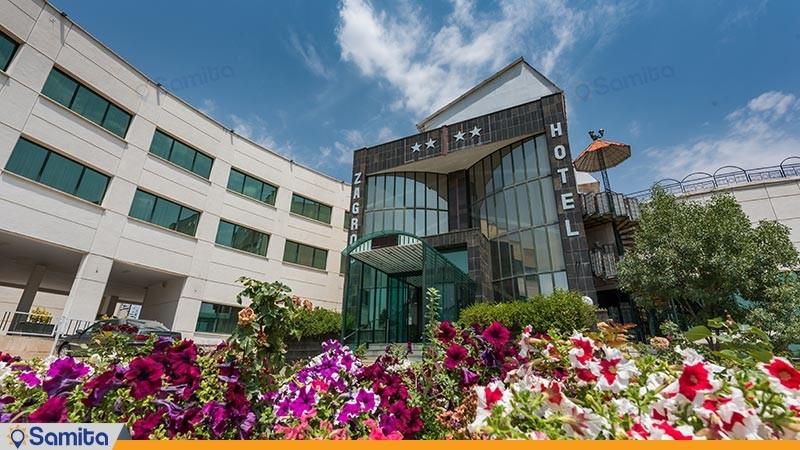 نمای ساختمان هتل بین المللی زاگرس