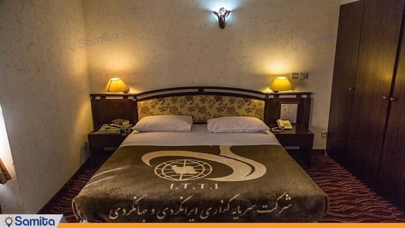 سوئیت یک خوابه بزرگ دو نفره هتل جهانگردی دلوار