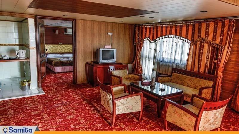 سوئیت دو خوابه بزرگ چهار نفره هتل جهانگردی دلوار