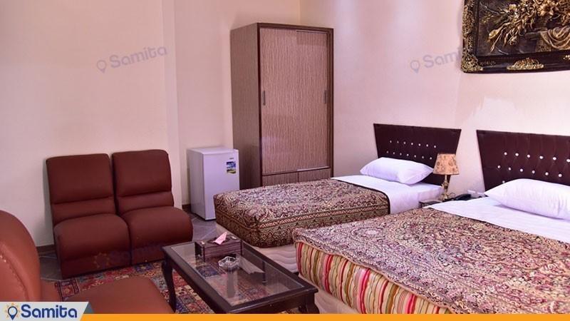 اتاق دو تخته هتل پلاس