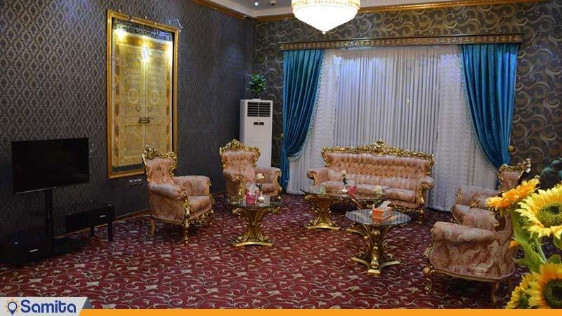 لابی هتل بین المللی فردوس چابهار