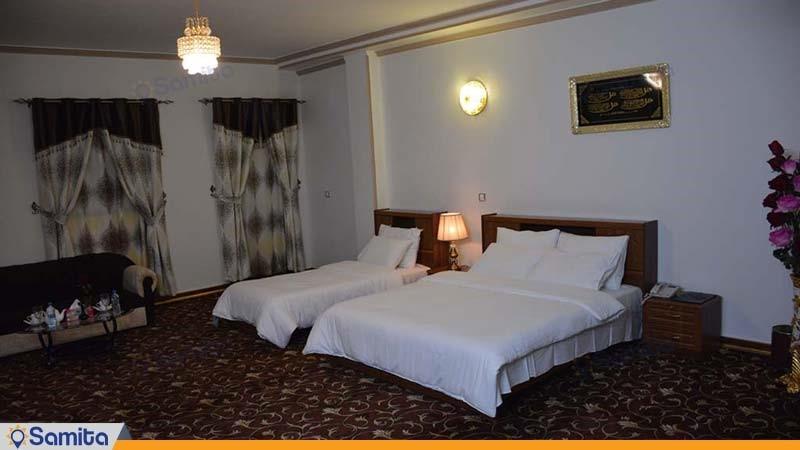 اتاق سه تخته هتل بین المللی فردوس چابهار