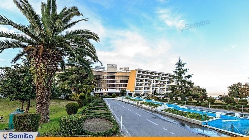 چشم انداز هتل پارسیان آزادی خزر