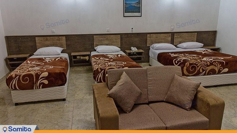 سوئیت چهار نفره ویژه هتل جهانگردی چالوس