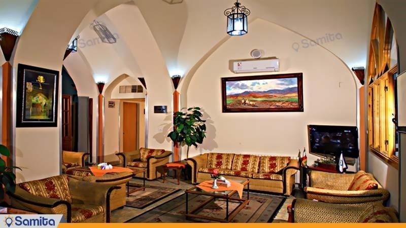لابی هتل جهانگردی دامغان