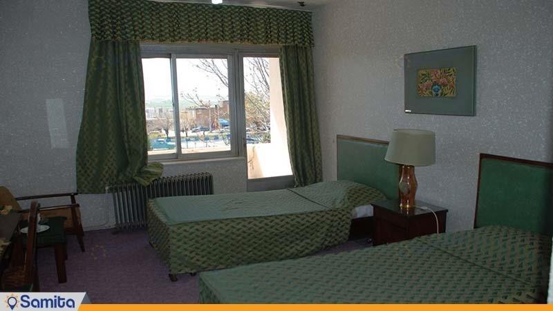 اتاق دو تخته هتل جهانگردی داران