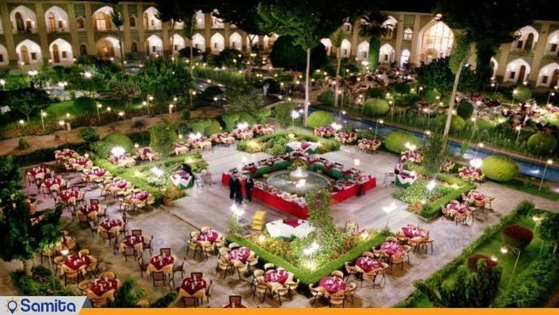 رستوران باغ هتل عباسی