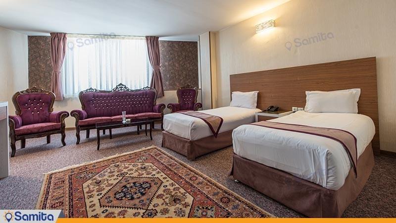 سوئیت چهار تخته طلایی هتل آوین