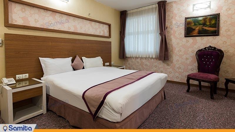 اتاق دو تخته نقره ای هتل آوین