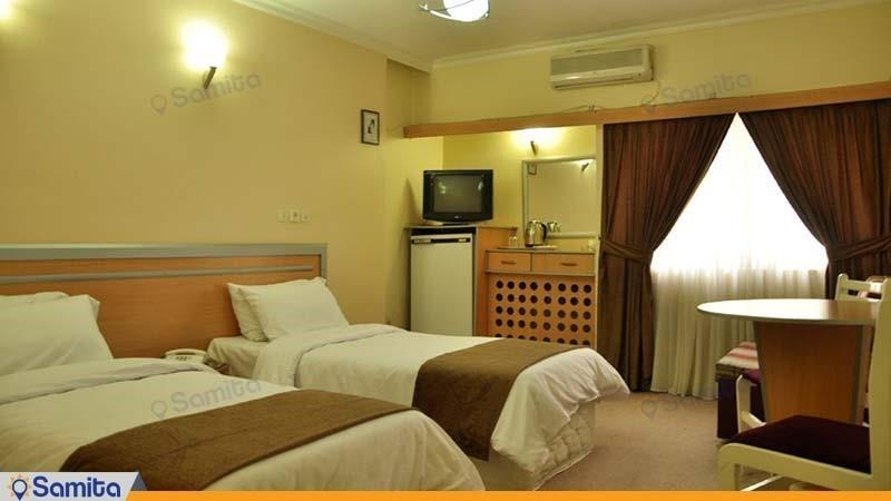 اتاق دو تخته هتل اصفهان