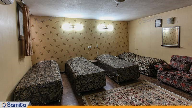 اتاق چهار نفره هتل جمشید اصفهان