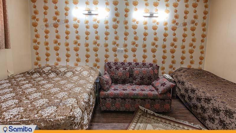 اتاق سه نفره هتل جمشید اصفهان