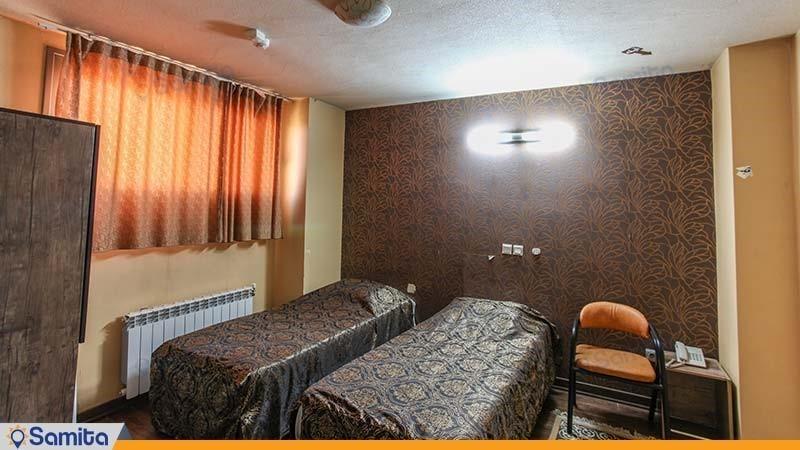 اتاق دو نفره هتل جمشید اصفهان