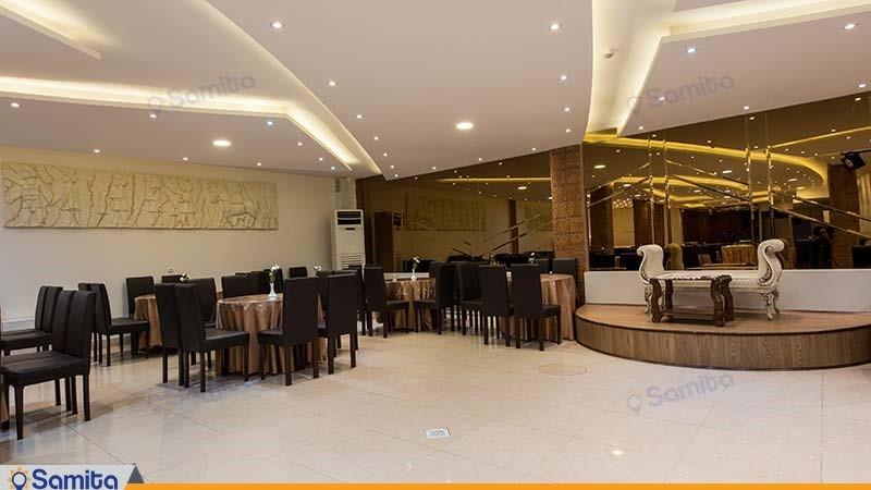 سالن پذیرایی هتل ملک