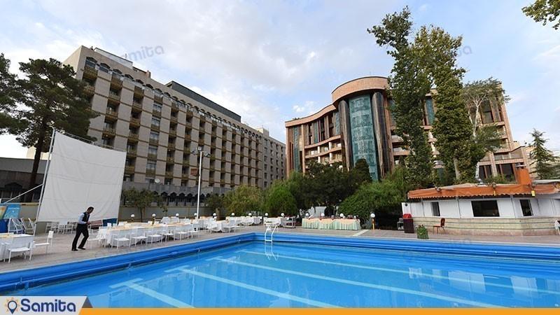نمای ساختمان هتل پارسیان کوثر اصفهان