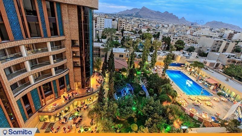 چشم انداز هتل پارسیان کوثر اصفهان
