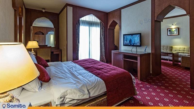 سوئیت نرمال هتل پارسیان کوثر اصفهان