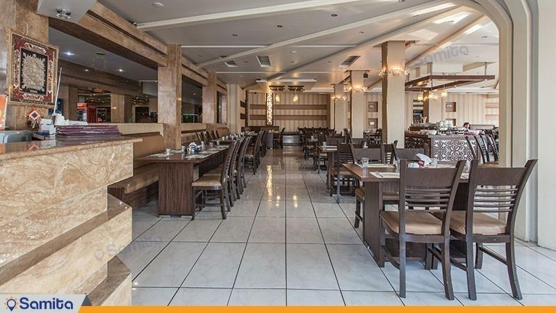 رستوران هتل پارسیان سوئیت