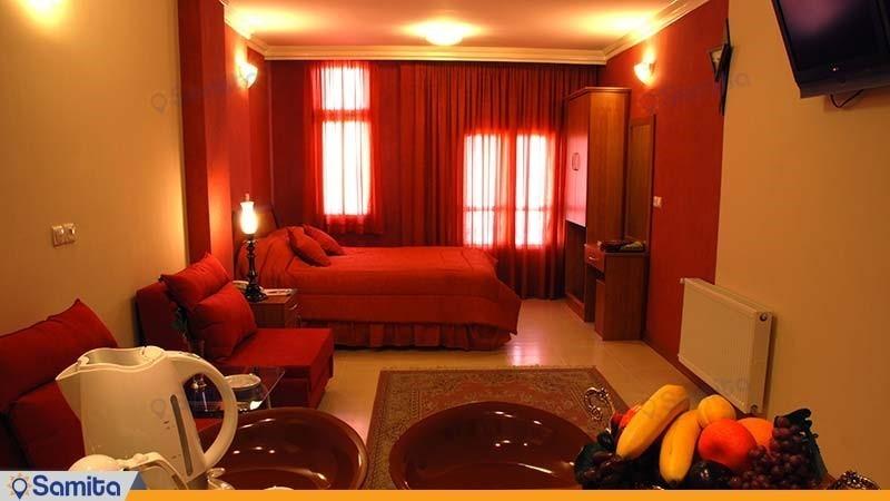 اتاق دبل هتل پارتیکان