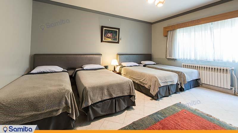 اتاق چهار نفره هتل توریست