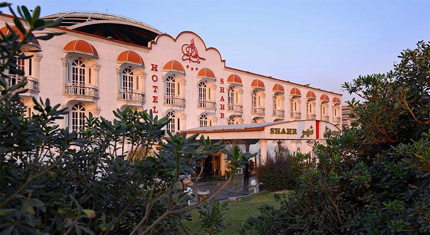 نمای بیرونی هتل شهر تهران