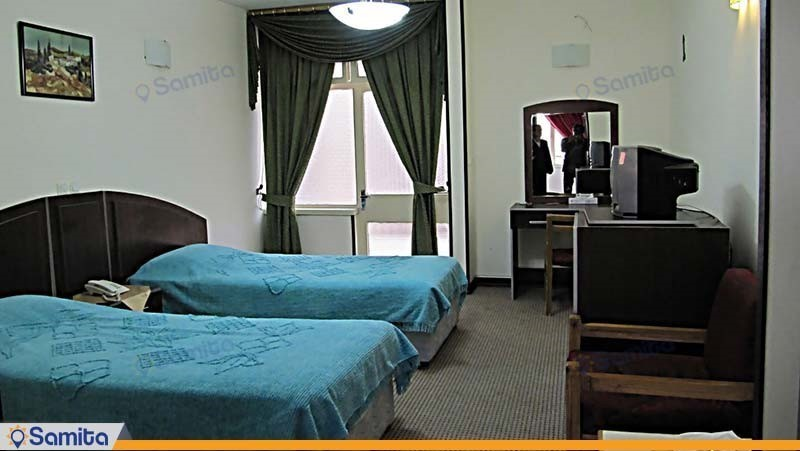 اتاق دو تخته مهمانسرای جهانگردی فسا