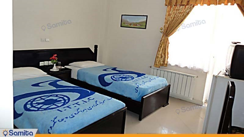 اتاق دو تخته مهمانسرای جهانگردی فیروزآباد