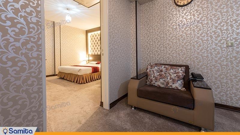 سوئیت دو تخته هتل استقلال
