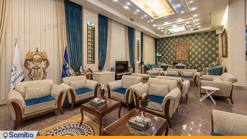 لابی هتل استقلال