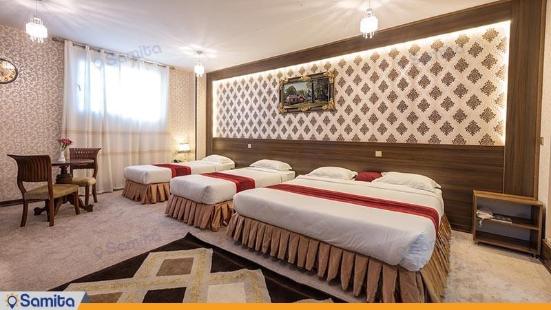 اتاق چهار تخته هتل استقلال