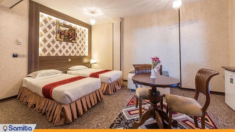 اتاق دو تخته توئین هتل استقلال