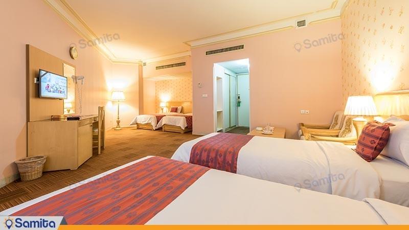 اتاق چهار تخته هتل بین المللی