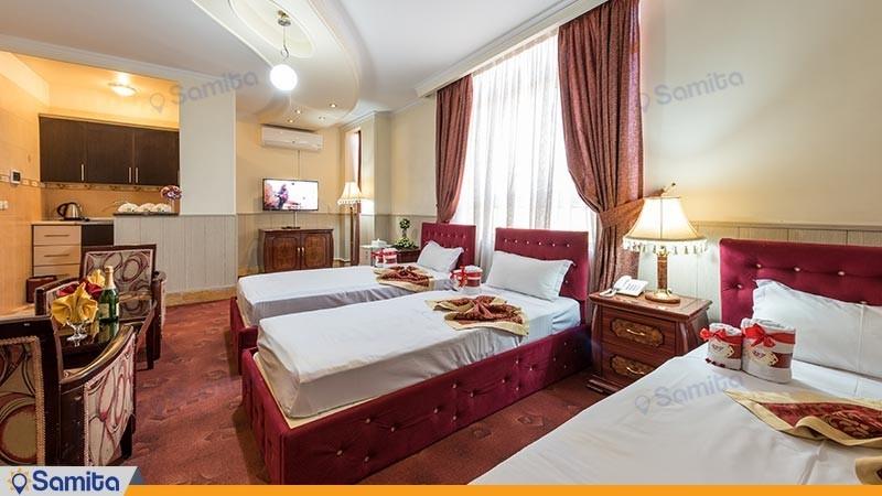 آپارتمان یک خوابه رویال هتل خورشید
