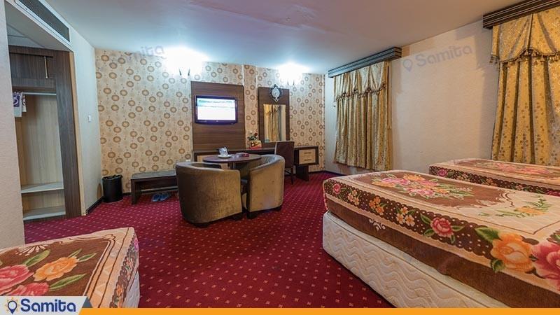 سوئیت یک خوابه هتل بزرگ پارسیا