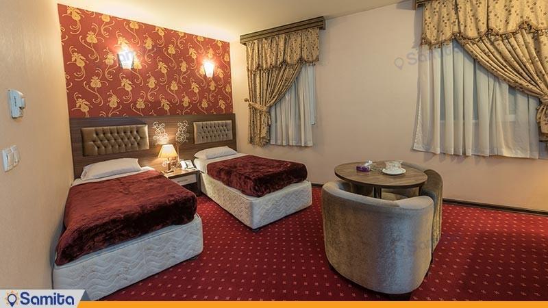 اتاق دو تخته توئین هتل بزرگ پارسیا