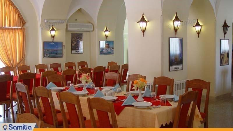 رستوران مهمانسرای جهانگردی گلپایگان