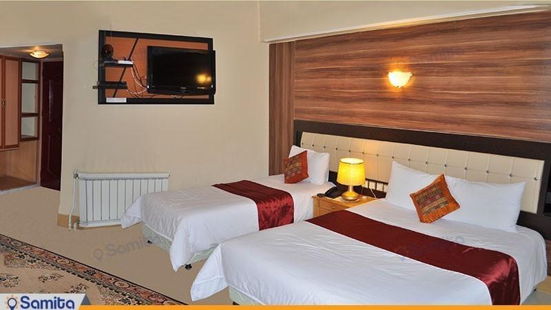 اتاق سه تخته هتل آذین