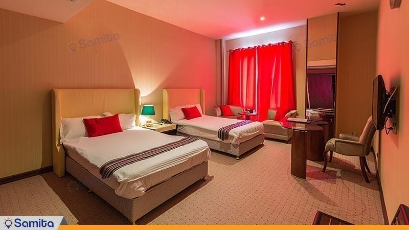 اتاق دو تخته هتل قصر بوتانیک