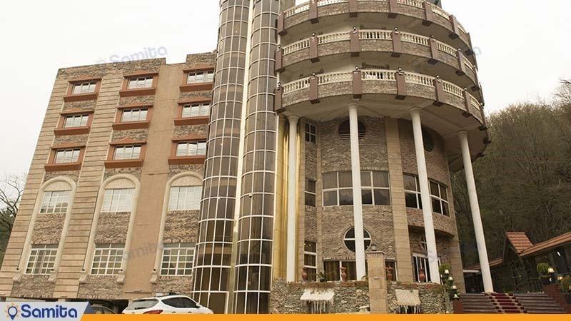 نمای ساختمان هتل شهاب ناهار خوران