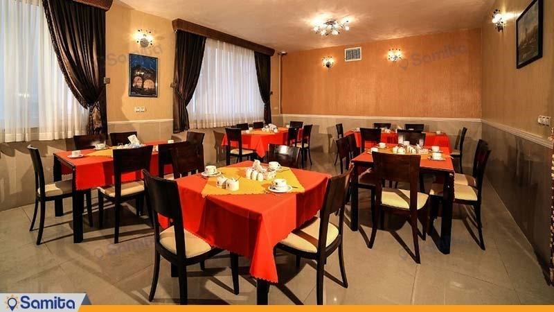 رستوران هتل جهانگردی علیصدر