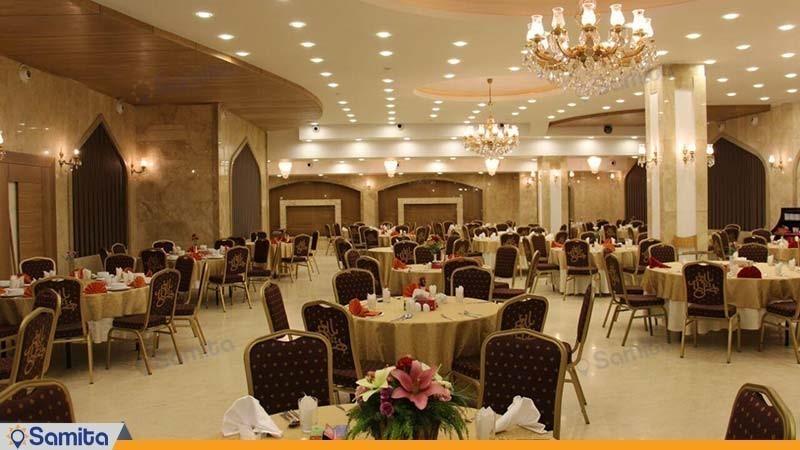 رستوران هتل بین المللی بابا طاهر همدان
