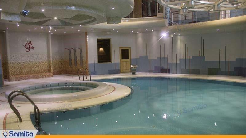 استخر هتل بین المللی بابا طاهر همدان
