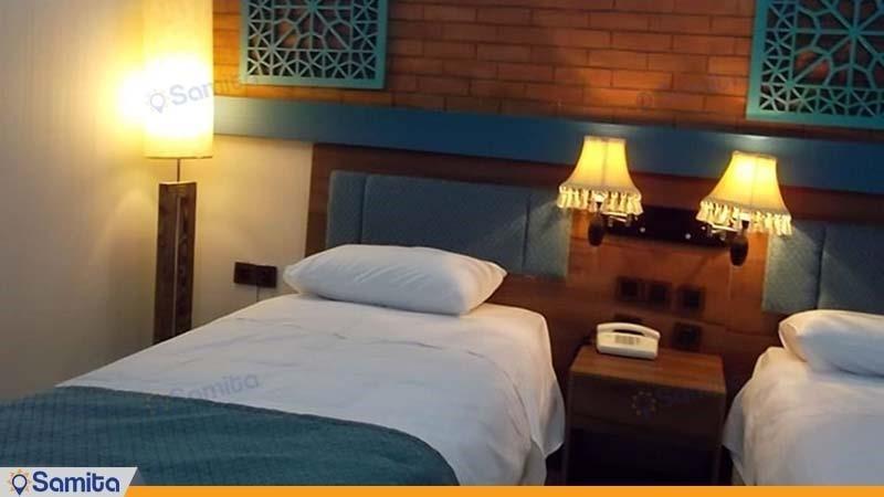 اتاق دو تخته هتل پارسیان بوعلی