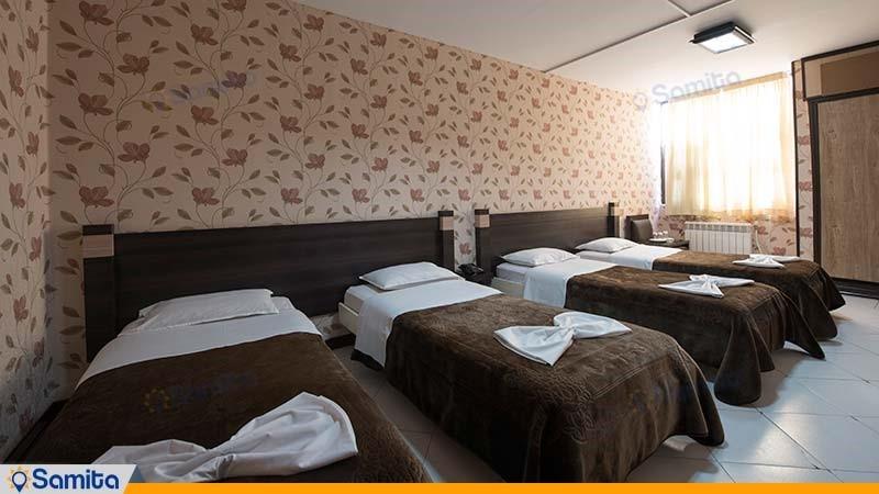 اتاق چهار تخته هتل جلفا