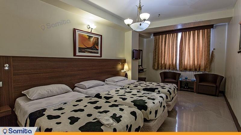 اتاق سه تخته هتل پارت