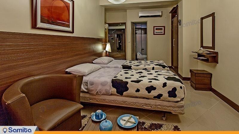 اتاق توئین هتل پارت