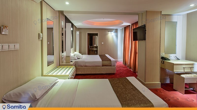 اتاق سه تخته هتل سفیر