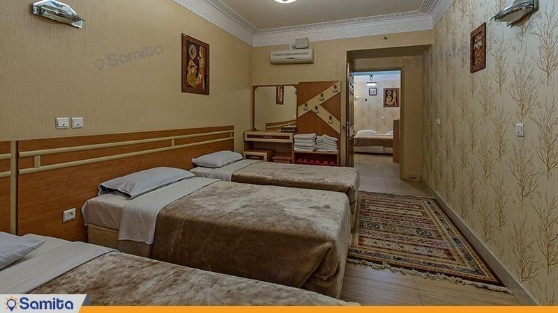 اتاق شش تخته هتل سپاهان