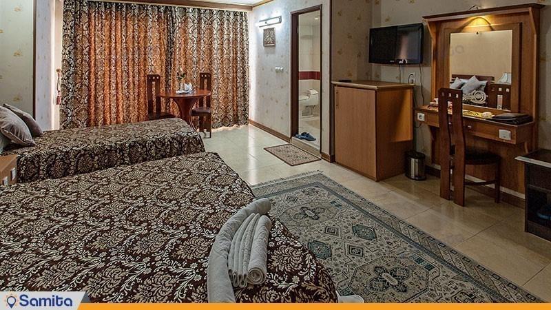 اتاق سه تخته هتل ونوس اصفهان