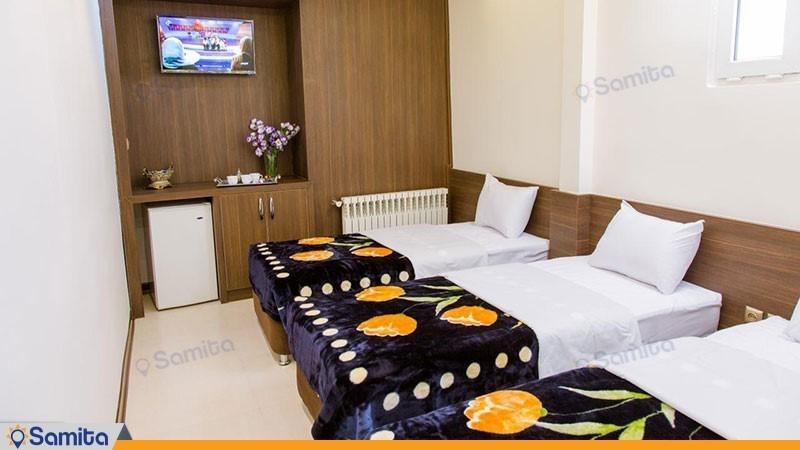 اتاق سه تخته هتل ویانا